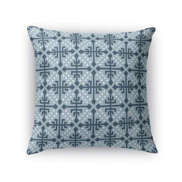 WONDER BLUE Indoor Outdoor Pillow By Kavka Designs
