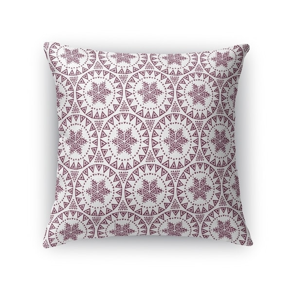 FREE SPIRIT WINE Indoor|Outdoor Pillow By Kavka Designs