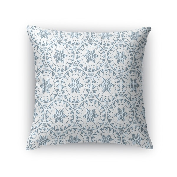 FREE SPIRIT BLUE Indoor|Outdoor Pillow By Kavka Designs