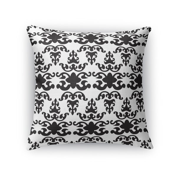 WAT BLACK Indoor|Outdoor Pillow By Kavka Designs