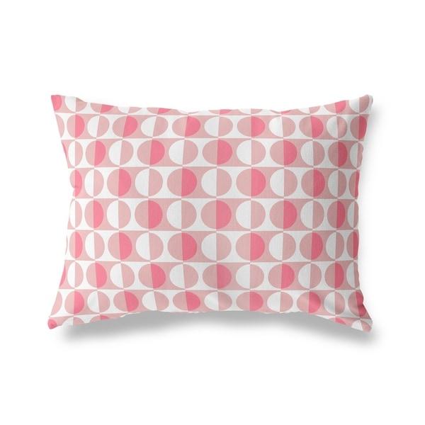 MOD SQUAD PINK Lumbar Pillow By Kavka Designs