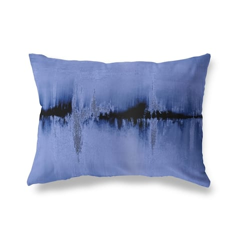 DANTE PURPLE Lumbar Pillow By Kava Designs
