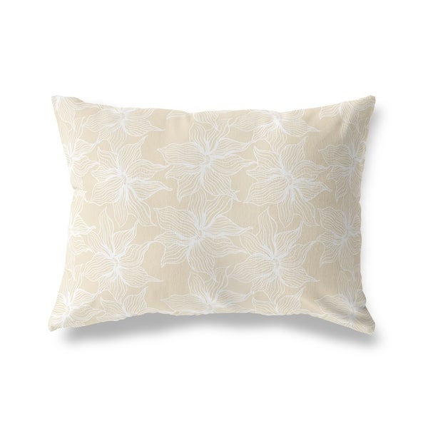 POSEIDON BONE Lumbar Pillow By Kavka Designs