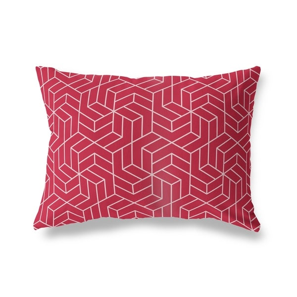 TITAN RED Lumbar Pillow By Kavka Designs