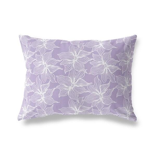 POSEIDON PURPLE Lumbar Pillow By Kavka Designs