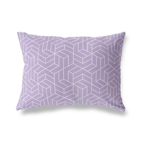 TITAN PURPLE Lumbar Pillow By Kava Designs