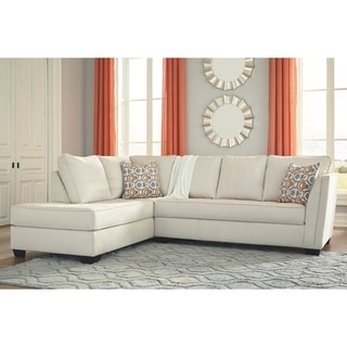 Copper Grove Bucha 2-piece Ivory Sectional with Left-facing Chaise