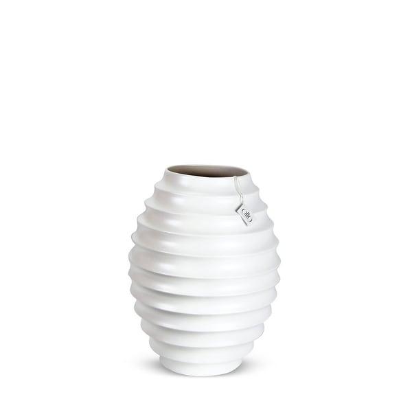 Stratus 18 Inch Ceramic Vase