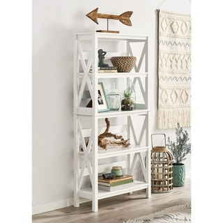 Link to The Gray Barn Xanadu Hill X-frame 5-tier Bookshelf Similar Items in Bookshelves & Bookcases