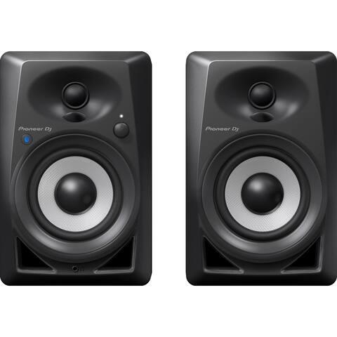 """Pioneer DM-40BT 4"""" Desktop Monitor Speakers w/ Bluetooth® Connectivity, Pair - Black"""