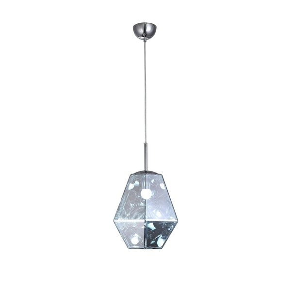 Clear Acrylic Shade Single Pendant Lighting. Opens flyout.