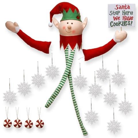 Santa's Elf Tree Dress Up Kit