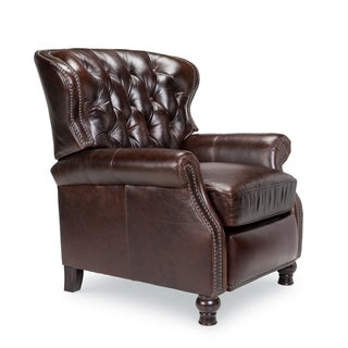Opulence Home Cambridge Leather Recliner