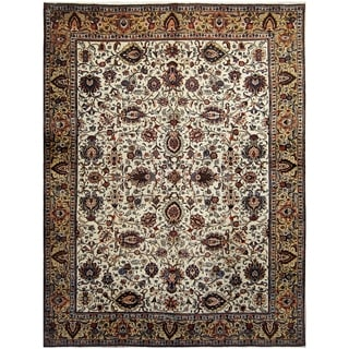 Handmade One-of-a-Kind Tabriz Wool Rug (Iran) - 9'4 x 12'4