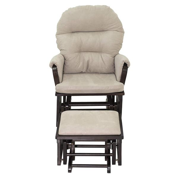 new arrival 58173 0bf34 Shop HomCom Nursery Glider Recliner Rocking Chair with ...
