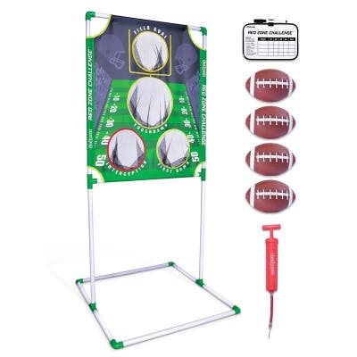 """GoSports Red Zone Challenge Football Toss Game 