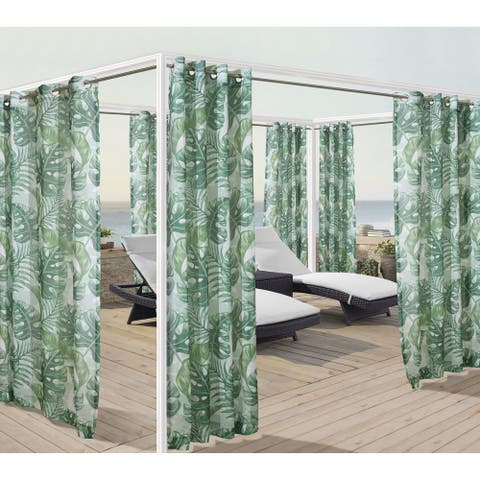 Banana Leaf Outdoor Panels by Havenside Home