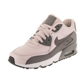 newest 434fb adc7c Shop Nike Kids Air Max 90 Ltr (GS) Running Shoe - Free Shipping Today -  Overstock - 28259189