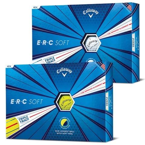 Callaway ERC Soft Triple Track Golf Balls - 1 Dozen