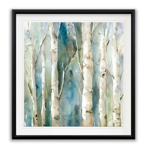 River Birch I -Framed Giclee Print