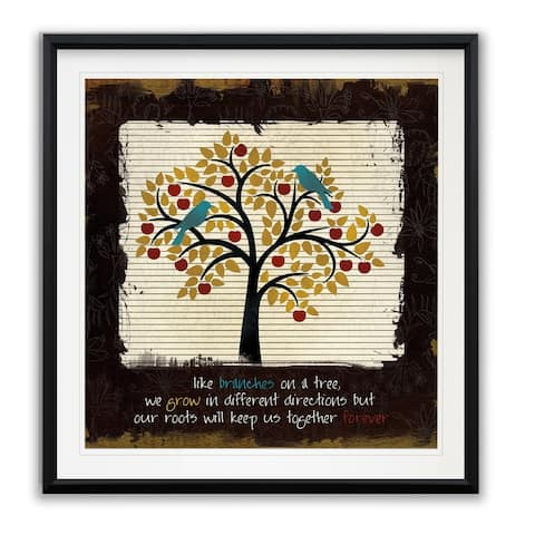 Family Tree -Framed Giclee Print