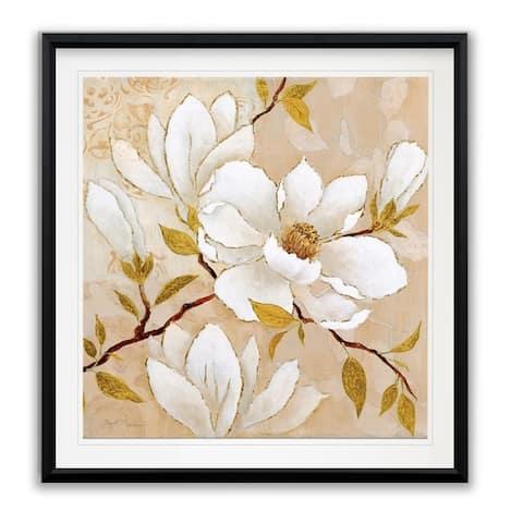 Golden Dogwood I -Framed Giclee Print