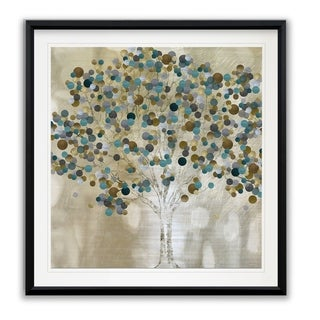 Link to A Teal Tree -Framed Giclee Print Similar Items in Art Prints