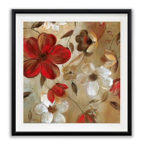 Ready For Red I -Framed Giclee Print