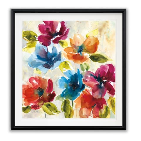 Color My World I -Framed Giclee Print