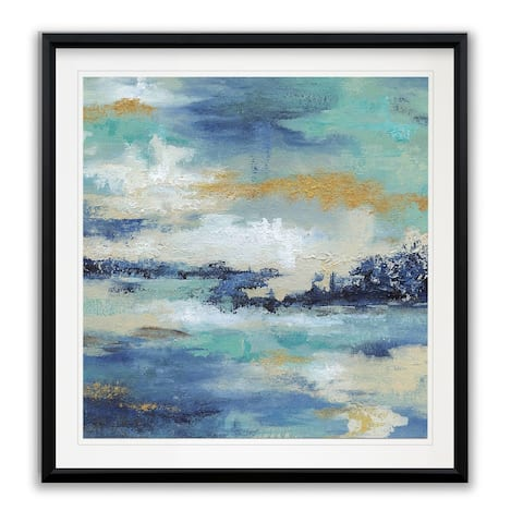 Sea Isle II -Framed Giclee Print