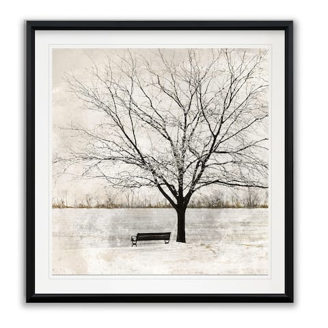 Lonely Tree -Framed Giclee Print