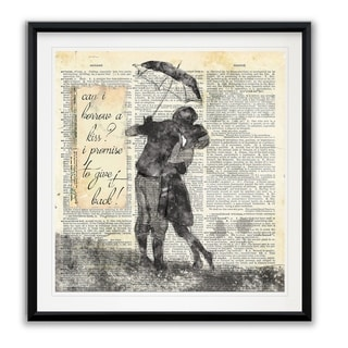 Give It Back -Framed Giclee Print