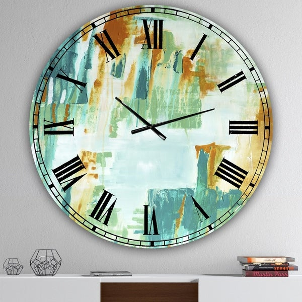 Designart 'On Your Right' Oversized Modern Wall Clock