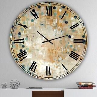 Designart 'I'll Take It Under Consideration 2' Large Modern Wall Clock