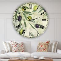 Buy Green Oversized Wall Clocks Online At Overstock Our Best Decorative Accessories Deals