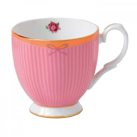 Candy Vintage Sweet Stripe 10.5-ounce Mug