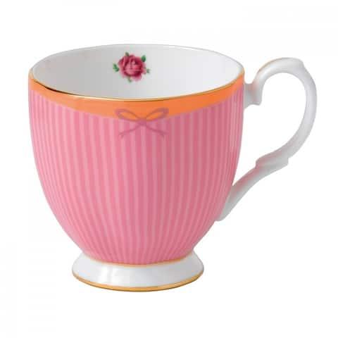 Candy Vintage Sweet Stripe 10.5-ounce Mug