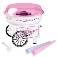 Nostalgia PCM325WP Vintage Hard & Sugar-Free Candy Cotton Candy Maker