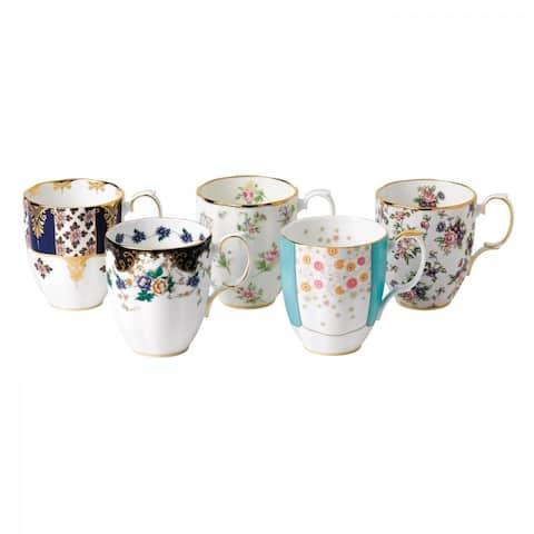 100 Years 1900-1940 14.1-ounce Mugs, Set of 5