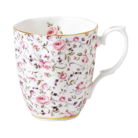 Rose Confetti Vintage 10.2-ounce Mug
