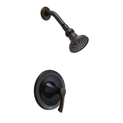 Antioch 1H Shower Only Trim Kit & Treysta Cartridge 2.0gpm Tumbled Bronze