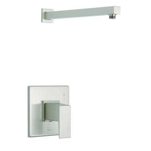 Mid-Town 1H Shower Only Trim & Treysta Cartridge Kit Less Showerhead Brushed Nickel