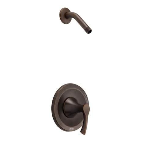Antioch 1H Shower Only Trim Kit & Treysta Cartridge Less Showerhead Tumbled Bronze