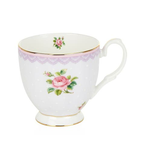 Candy Vintage Love Lilac 10.5-ounce Mug