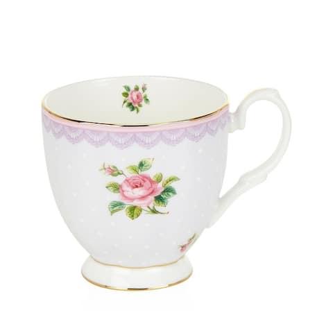 Candy Vintage Love Lilac 10.5-ounce Mug