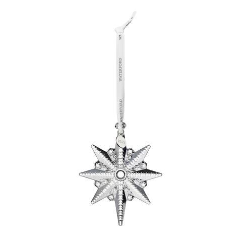 Crystal 2019 4.4-inch Snowstar Christmas Ornament