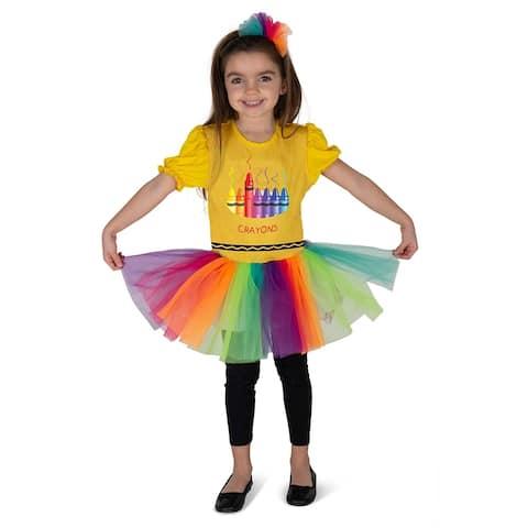 Kids Crayon Box Costume - By Dress Up America