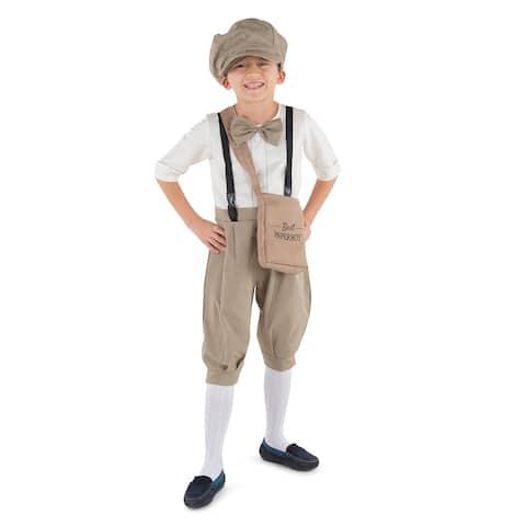 Kids Vintage Newsboy Costume - By Dress Up America