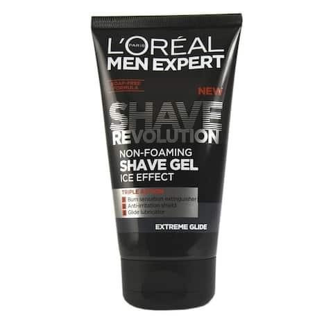 L'oreal Men's Expert Shave Revolution Non Foaming Shave Gel, 150ml (5.1 Oz)