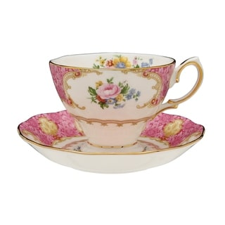 Link to Lady Carlyle Teacup and Saucer Set Similar Items in Serveware